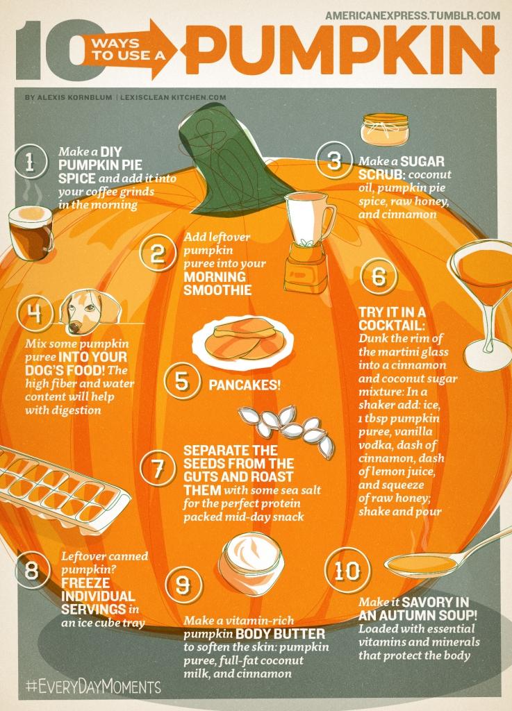 Pumpkin infographic**